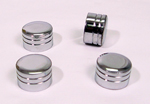 Part#0400 Chrome Cylinder Bolts Covers For 1999-up Twin Cam  Models