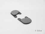 Disc Brake Pads fit Harley FX 1977-83 (front)