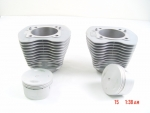 "Cylinder Kit for Harley Twin Cams 3-7/8"" Natural Cast"