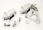 Caliper- Front & Rear for Harley 2000-up Polished