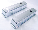 Steel Valve Covers for Small Block Chevy 1958-86 Tall