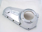 Outer Primary Cover Chrome Harley Davidson Big Twin  FXD Dyna 2006-up